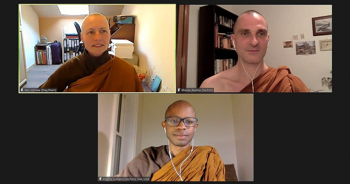 Queere Buddhist*innen aus aller Welt trafen sich online