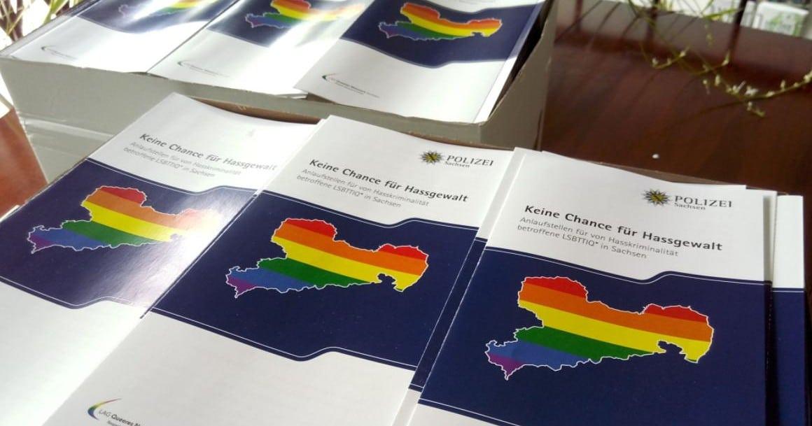 Sachsen: Polizei und LGBTI-Organisation wollen Anzeigebereitschaft queerer Menschen erhöhen