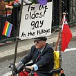 Schwule Senioren treffen sich in Hamburg