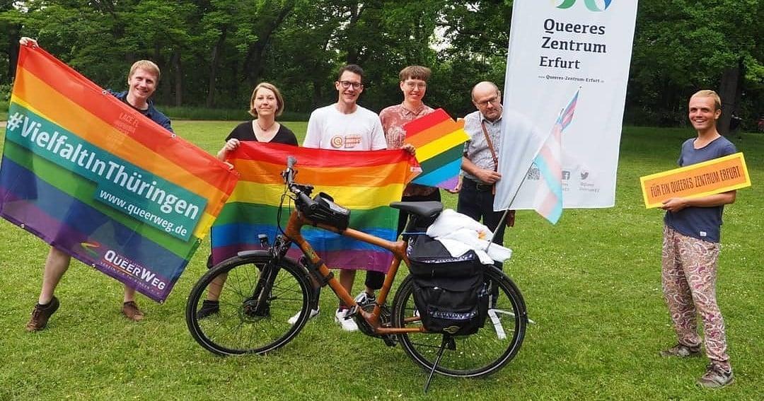 Heute wird das Queere Zentrum Erfurt offiziell eröffnet