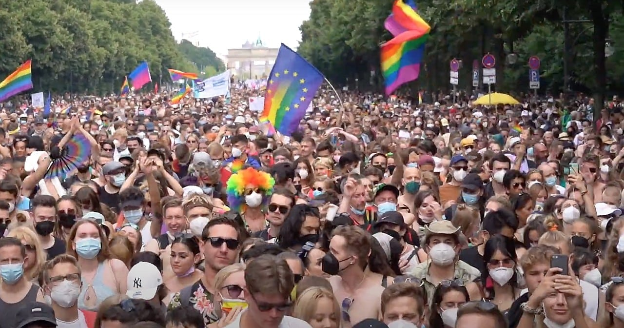 CSD Berlin 2021: Wir waren unübersehbar!