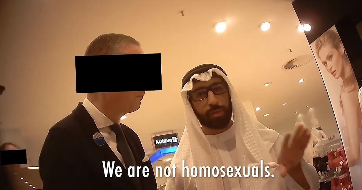 Geht ein homophober Scheich ins Alsterhaus...